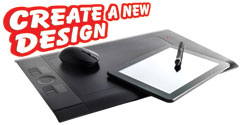 create a new graphic design